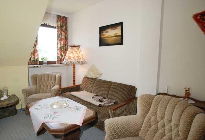 Hausbeschreibung von Ferienwohnungen Haus Kiel in Altenau