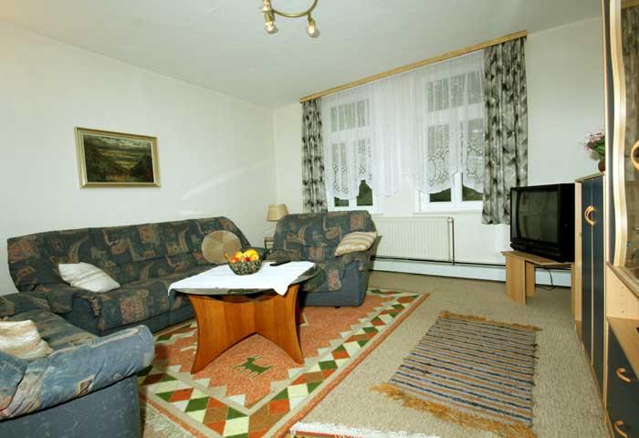 beschreibung der ferienwohnung 39 wohnung 2 39 haus nelle in bad harzburg. Black Bedroom Furniture Sets. Home Design Ideas